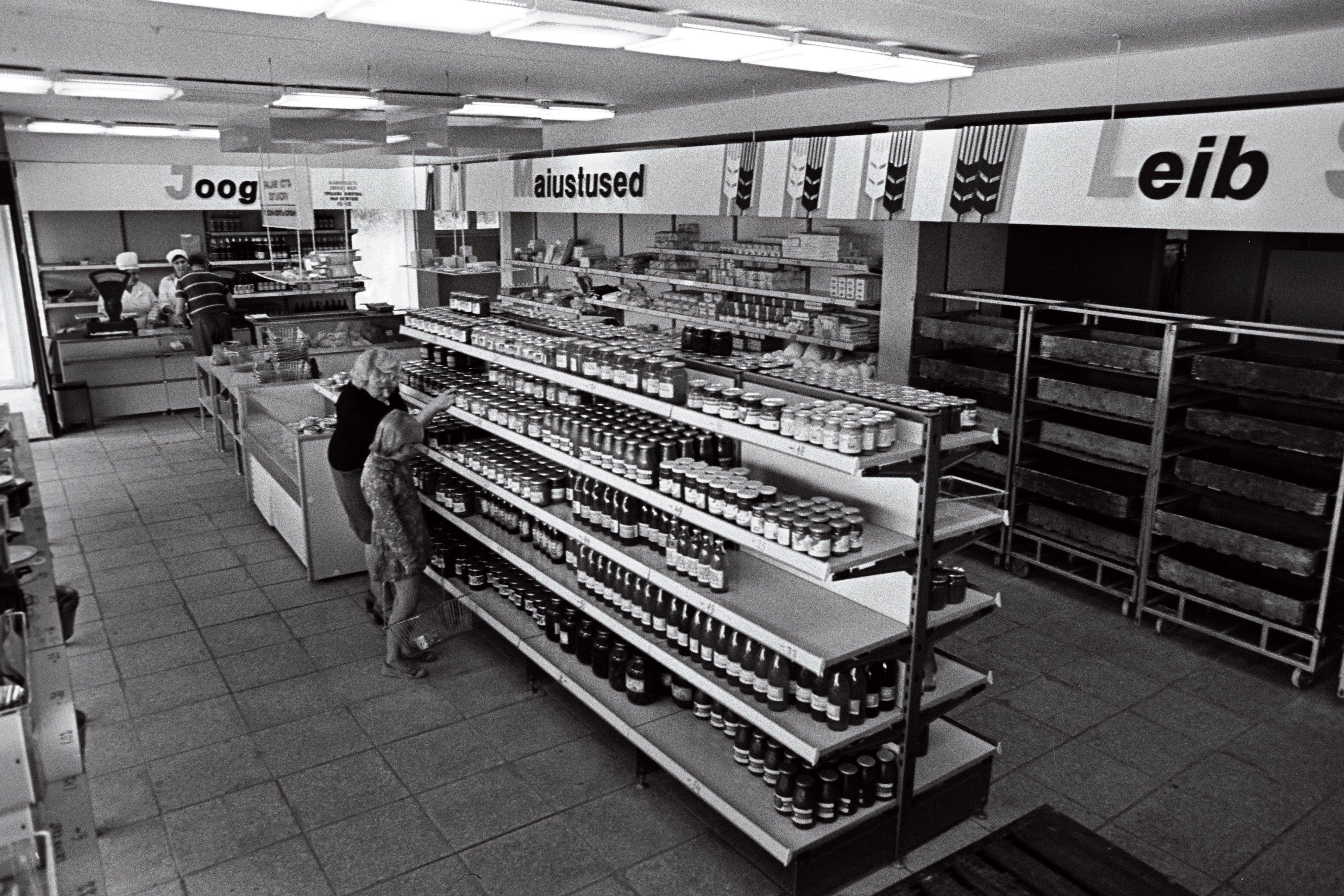 Tõlliste kauplus Valga rajoonis,1977. EFA.204.0-107774