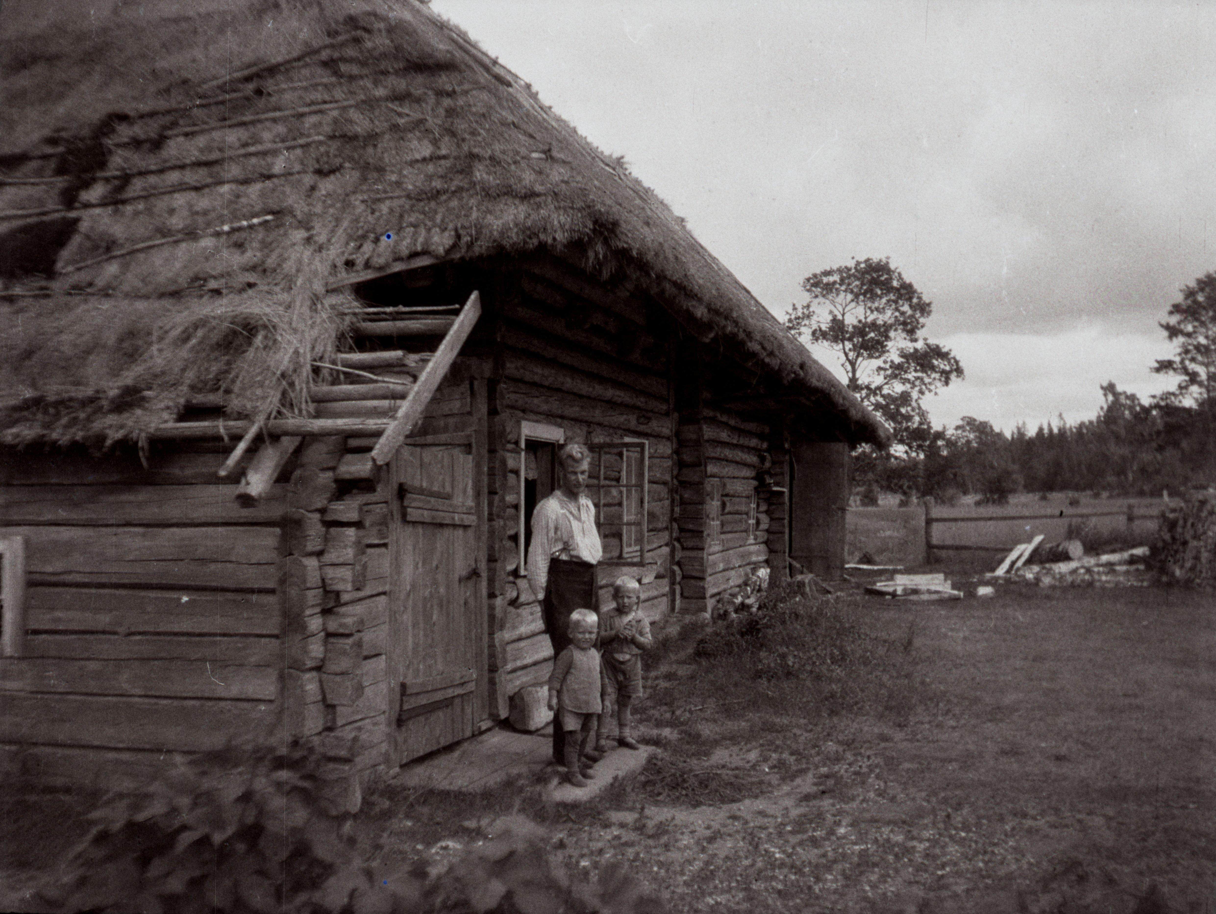 Jaagu talu vana taluhoone Palli külas. EFA.554.0-181900
