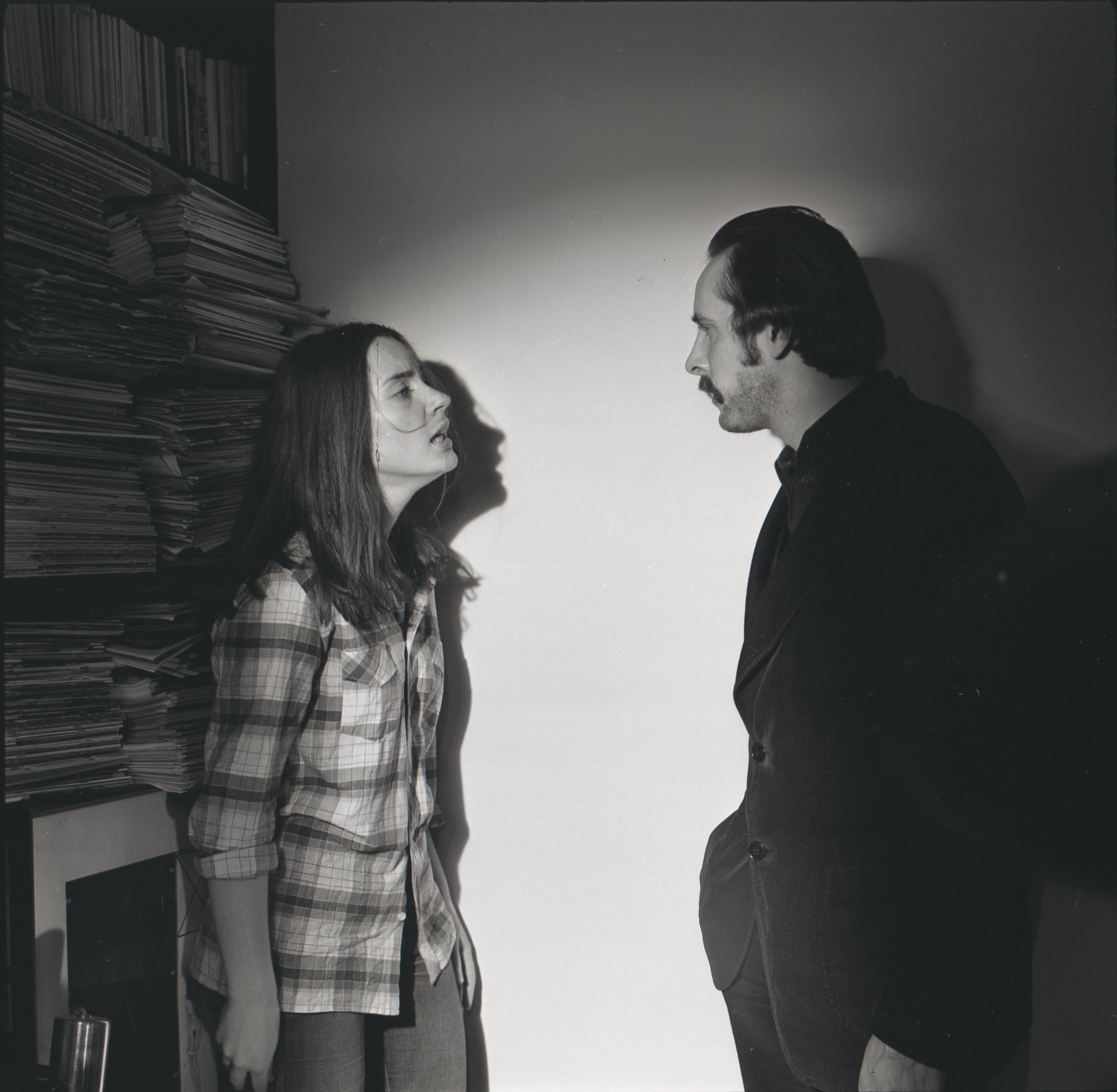 """EFA 0-210074. """"31. osakonna hukk"""" – Julia – Annika Tõnuri ja Jensen – Ulfsak. Foto: Oti Vasemaa, 1979"""