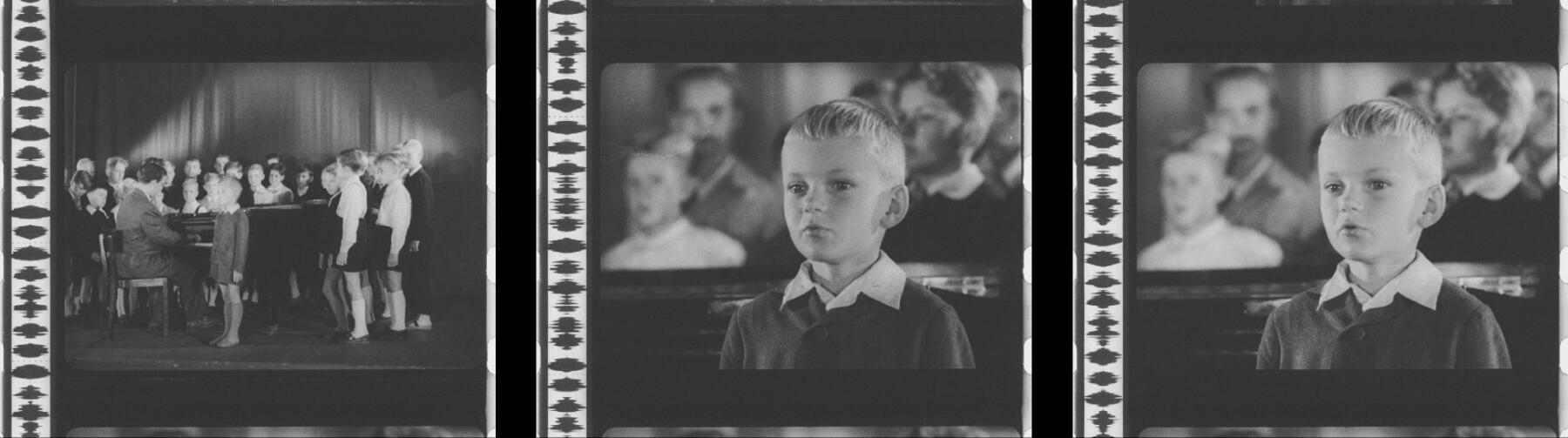 Mustvalgete kroonikafilmide kirev maailm