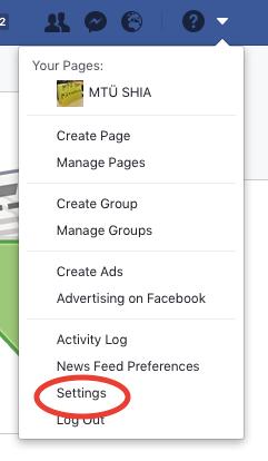Facebooki konto arhiveerimise juhend.1.