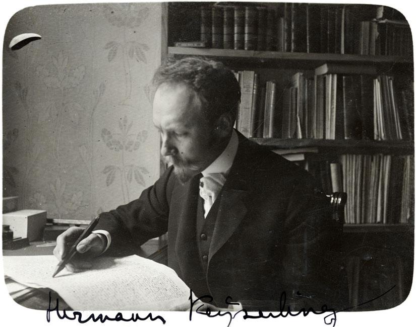 Hermann Keyserling (1880–1946) RA, EAA.1850.1.554