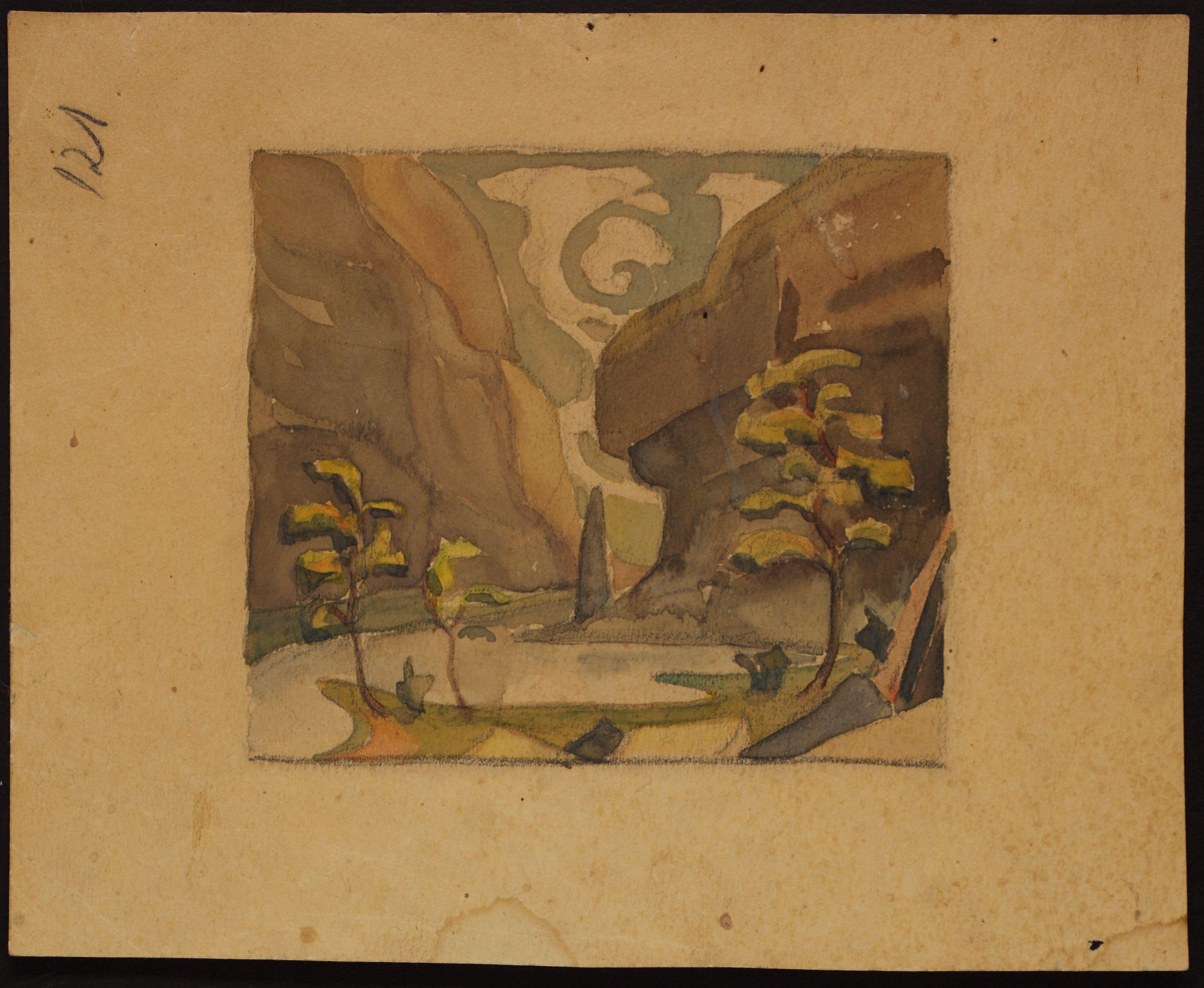 Akvarell. ERA.R-1903.1.23.121