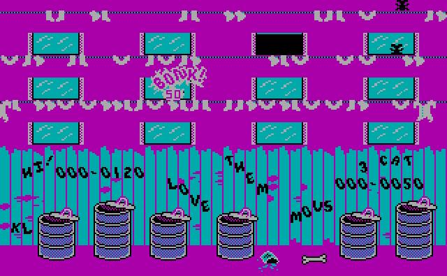 Kuvatõmmis arvutimängust Alley Cat