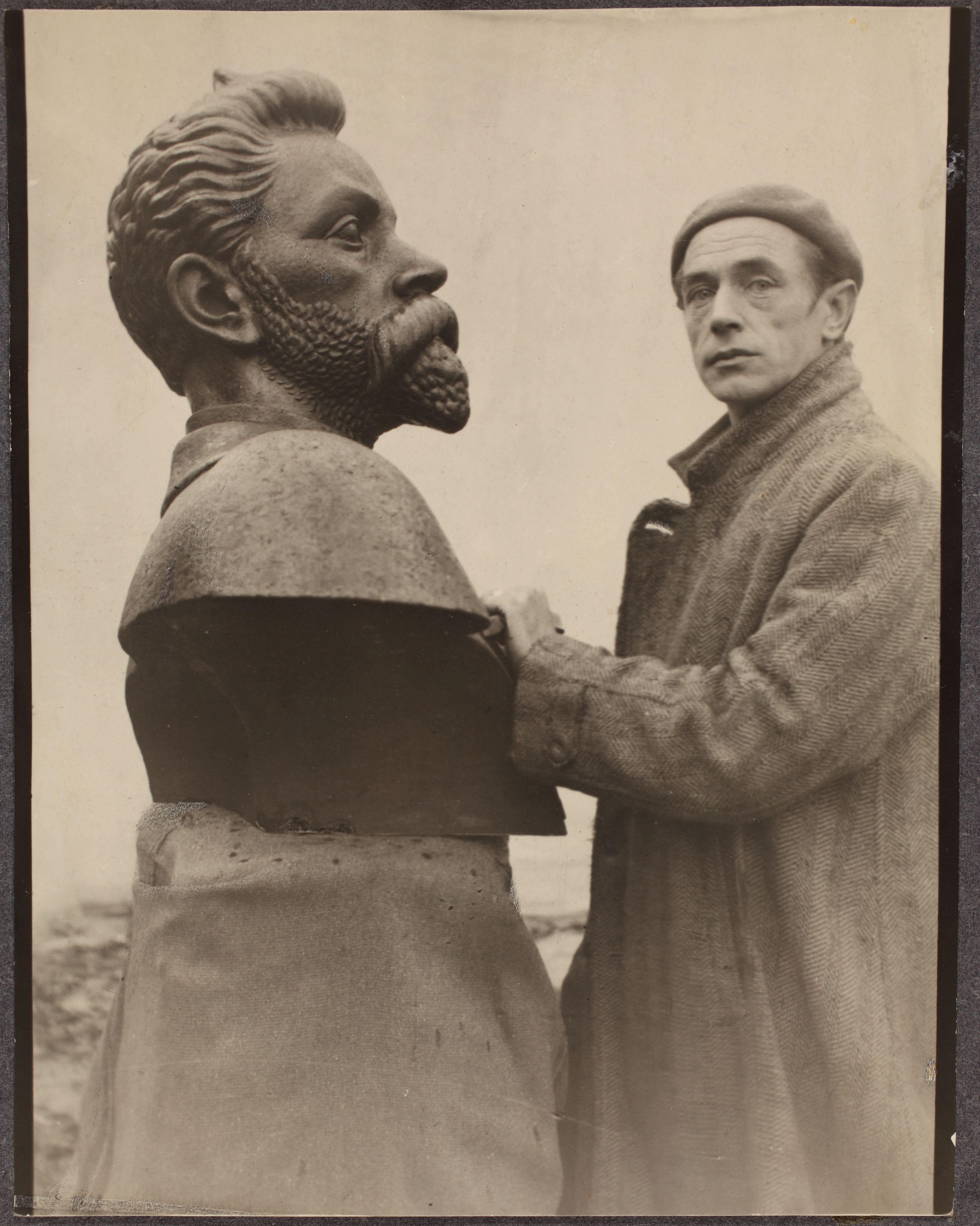 B. Laipmani büst, 1933. ERA.R-1665.3.25