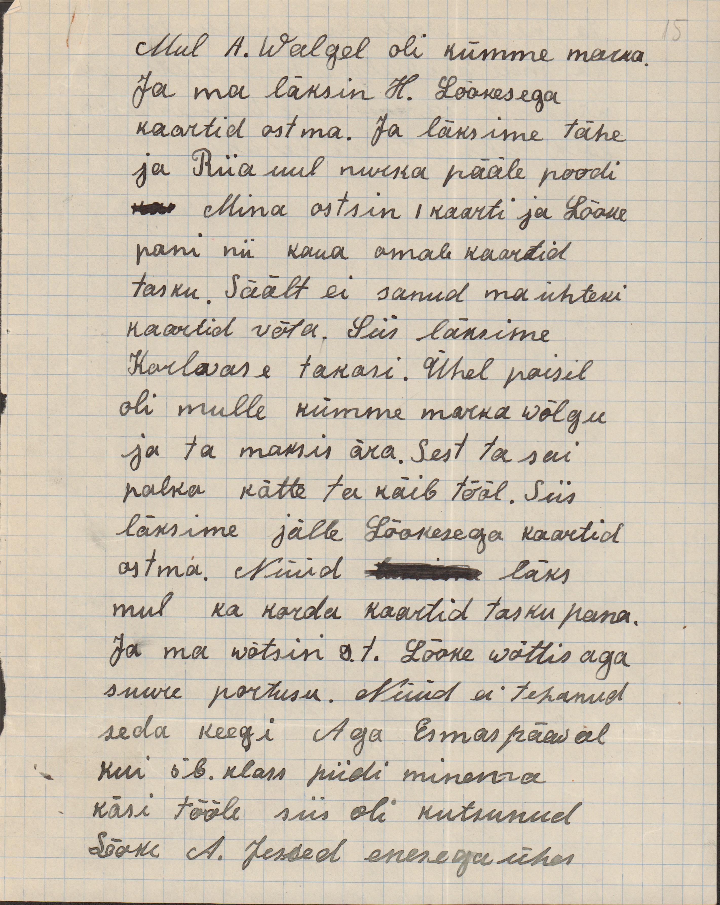 Koolipoisi seletuskiri postkaartide varguse kohta. eaa.5367.1.68_15