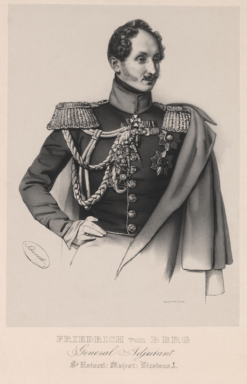 Friedrich von Berg. EAA.1874.1.82a