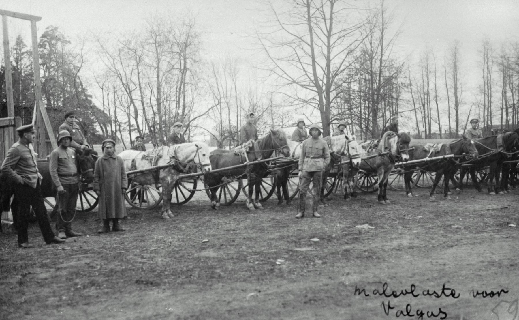 Jalaväe relvastusega varustamine Eesti Vabadussõjas 1918-1920
