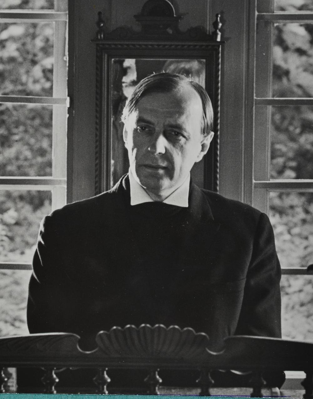 """Aarne Üksküla mängufilmi """"Karge meri"""" proovivõtetel, 1981. Foto: Mikk Raude. RA, EFA.203.A-485-13. efa0203_00a_0000485_00013_ft"""