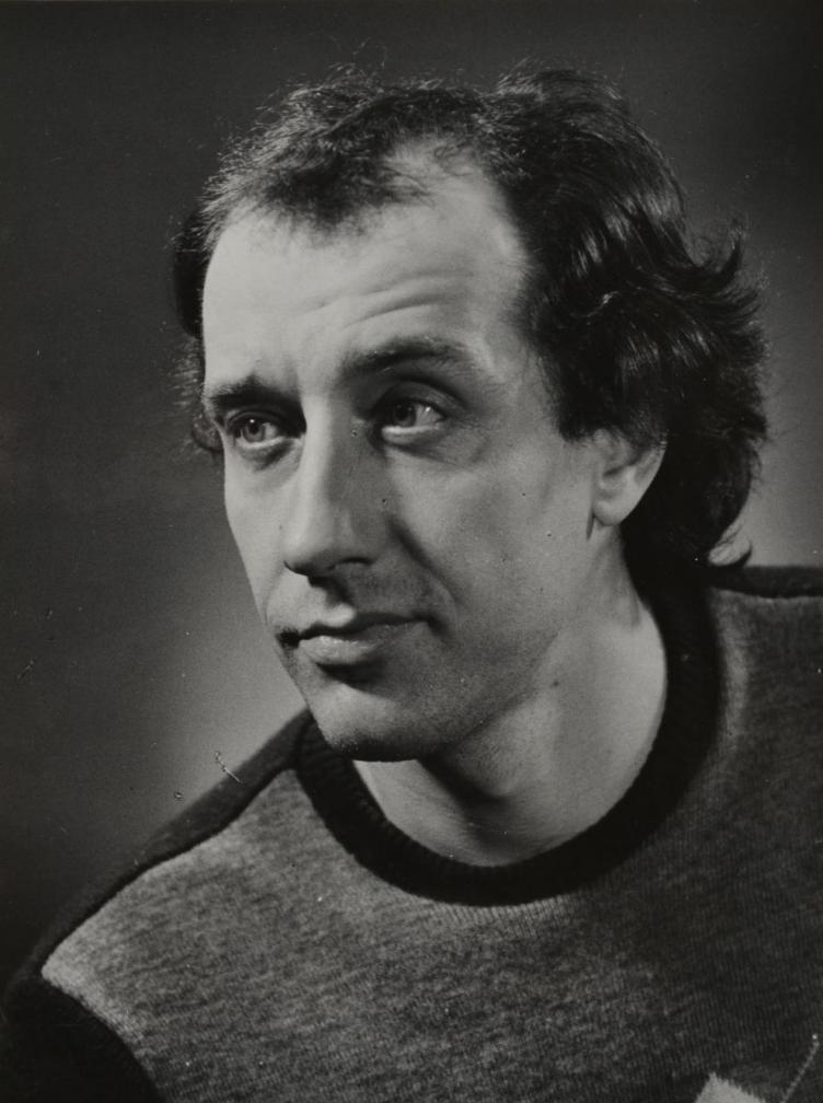 Roman Baskin mängufilmi Bande Ned Beaumonti osatäitjaks soovijana, 1995. Oti Vasemaa. RA, EFA.203.P.A-500.4