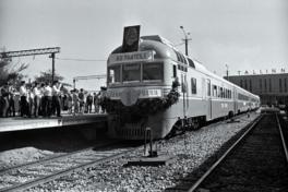 Tallinn-Pärnu rong Balti jaamas 23. juulil 1971. RA, EFA.204.0-87531