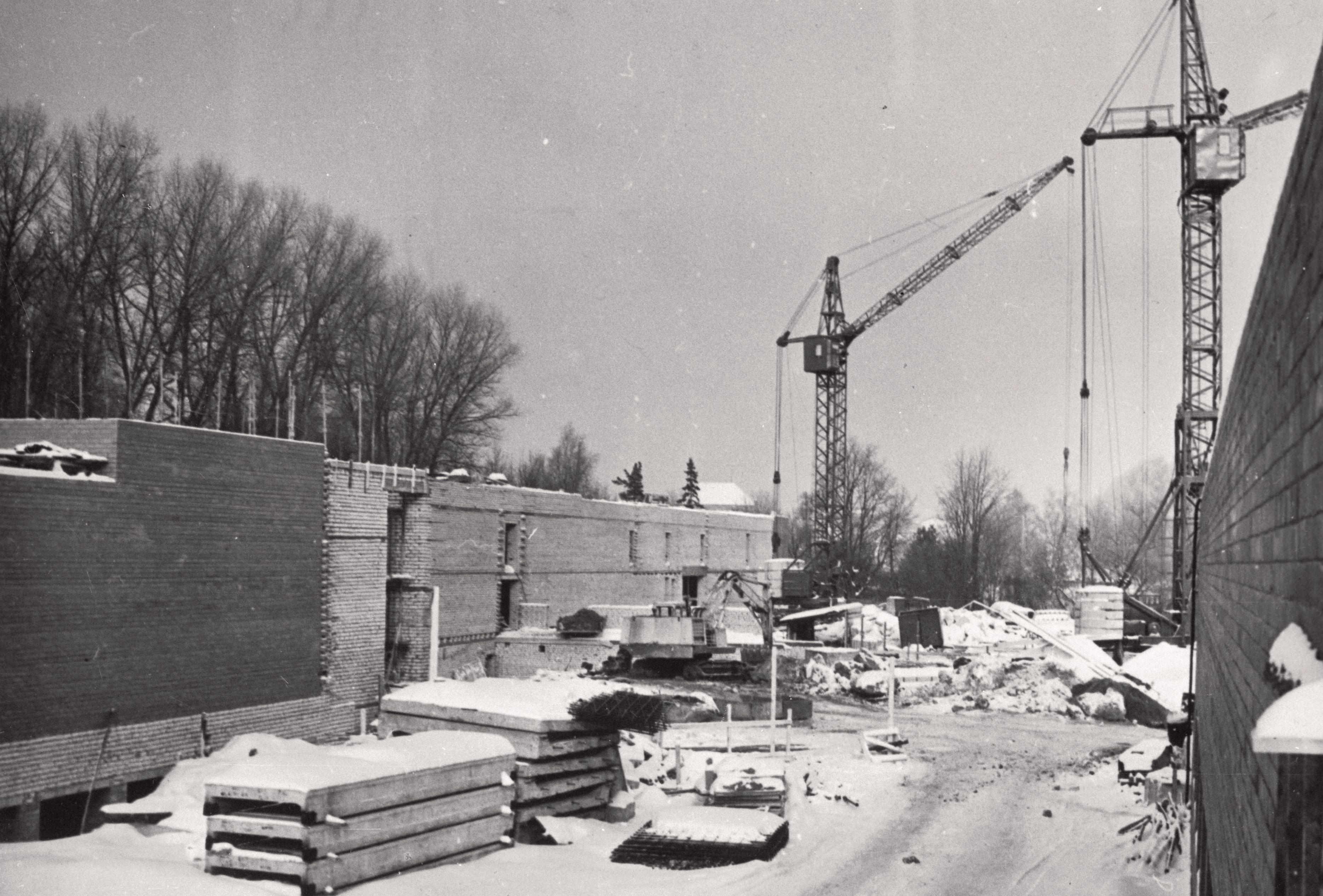 Teatrimaja ehitusplats, 1977. EFA.339.0-100660. 35mm negatiivfilm