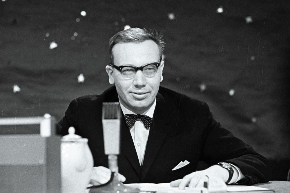 """""""Horoskoobi"""" saatejuht Andres Vihalem, veebr.1969. EFA. 412.0.208185"""