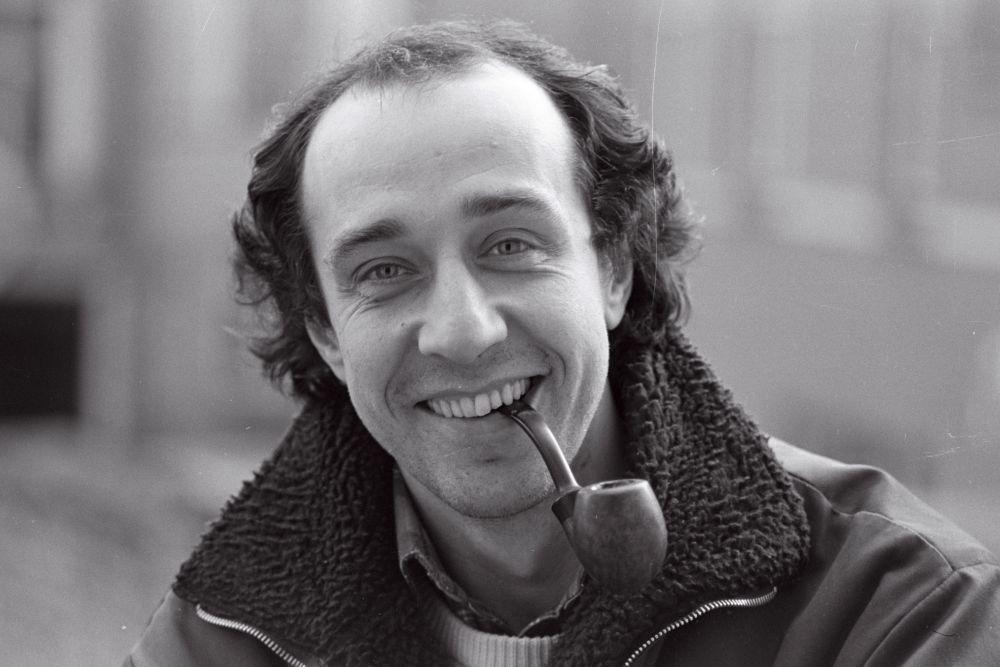 Roman Baskin, portreefoto, 1985. Harald Leppikson. RA, EFA.546.P.0-300010