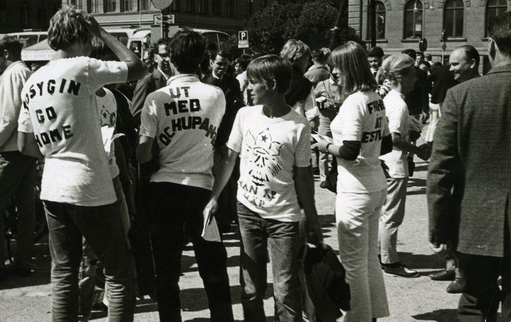 Eestlaste protestimeeleavaldus Stokholmis A.Kossõgini visiidi puhul, 1968. EFA.656.0-417060. efa0656_000_0000000_417060_ft