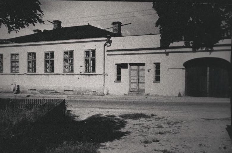 Valga arhiivihoone 1960ndatel aastatel