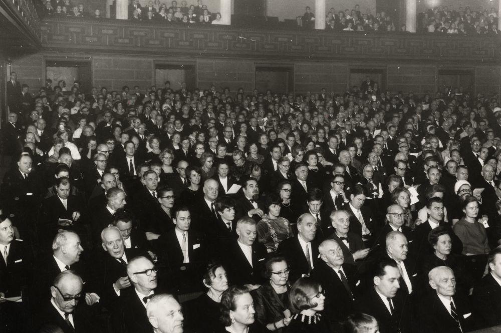 Eesti Vabariigi 50. aastapäeva kontsert Stockholmis, vaade saali. era4935_001_0000178_00202_00079_00043_ft