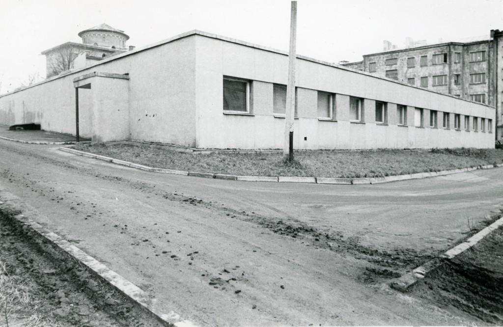 1979. aastal valmis Johan Laidoneri Õllepruuli tänaval asunud aeda arhiivi hoidlahoone ERAF.2.2.9169.1. eraf2-2-9169-1