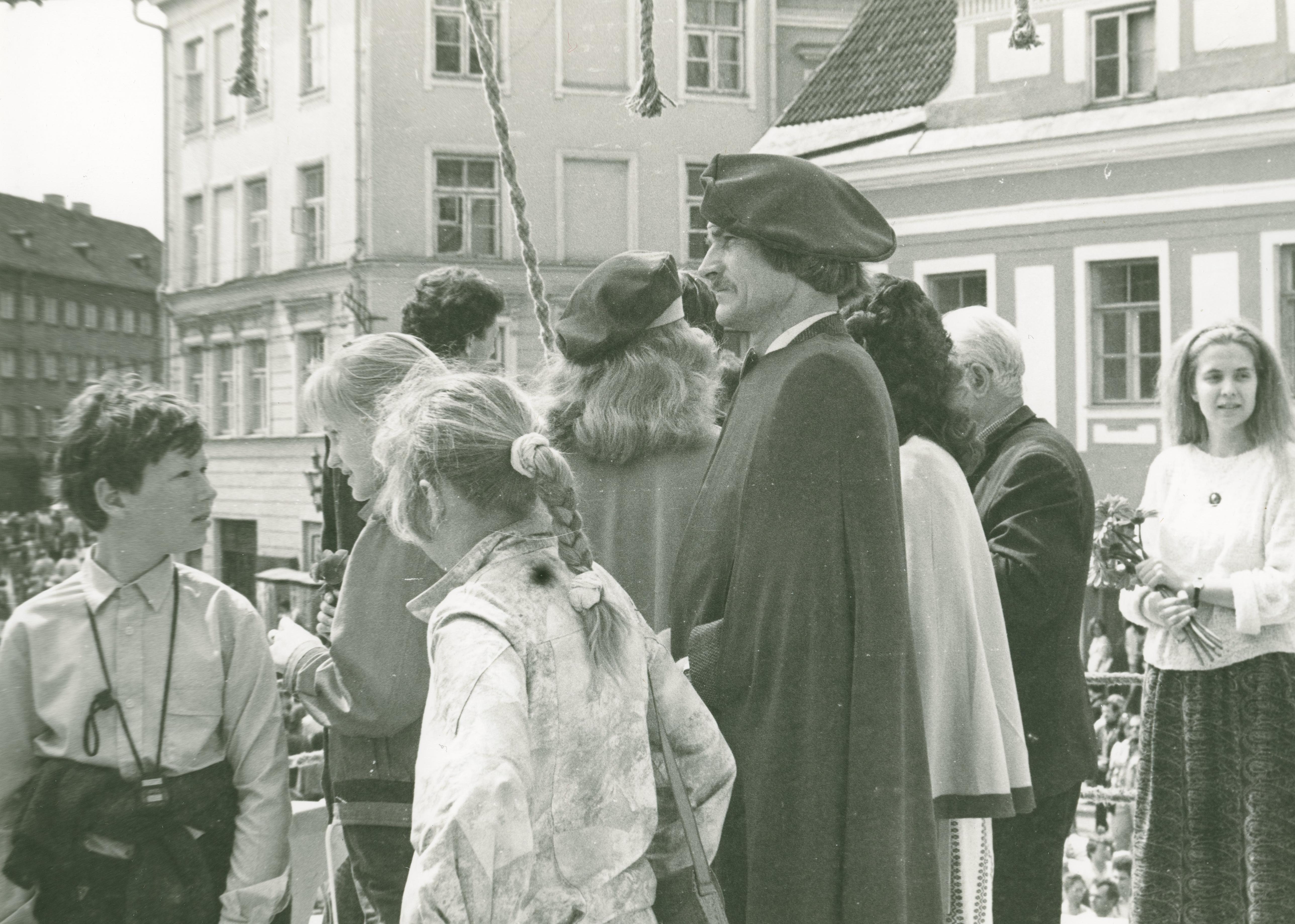 Foto Vanalinna päevadest aastatest 1984 - 1990. Jüri Kuuskemaa. Fotograaf: Georgi Tsvetkov. erf0002_002_0004294_00000_00003_fk