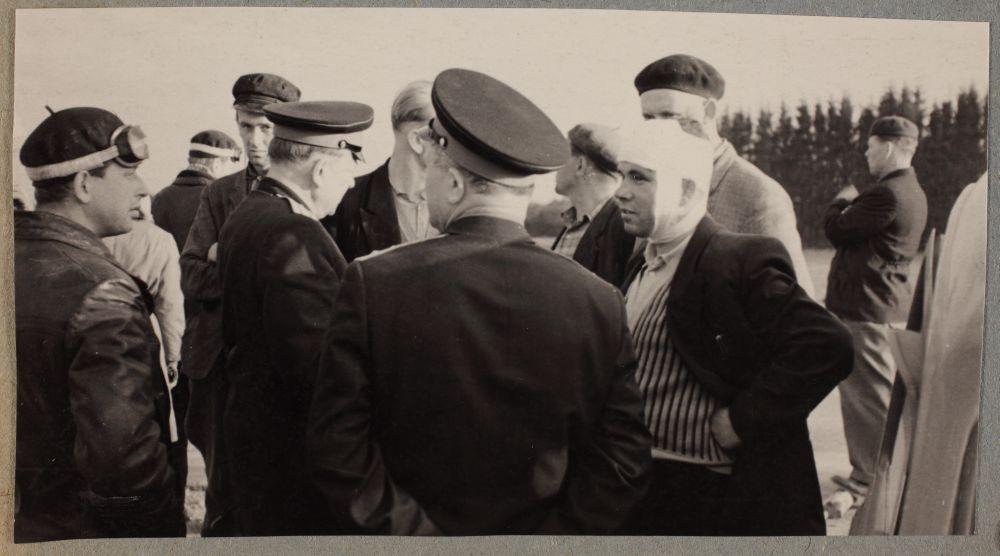 Riikliku autoinspektsiooni töötajad, 1962. RA, ERAF.2.2.9555.7. p.8.. erf0002_002_0009555_00088_0008p_00006_ft