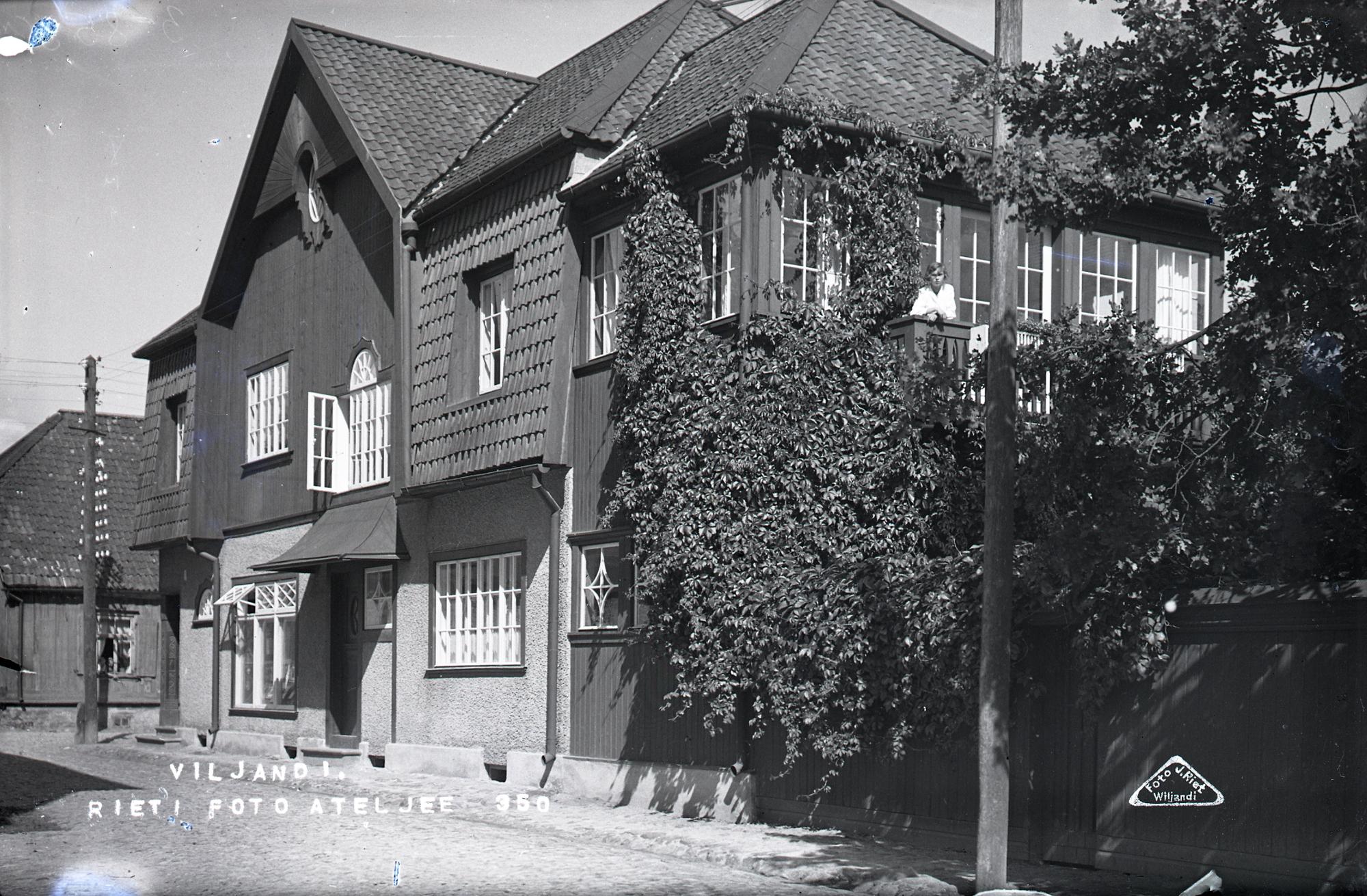 Rieti ateljee, 1925. Jaan Riet, EFA.215.3-8599