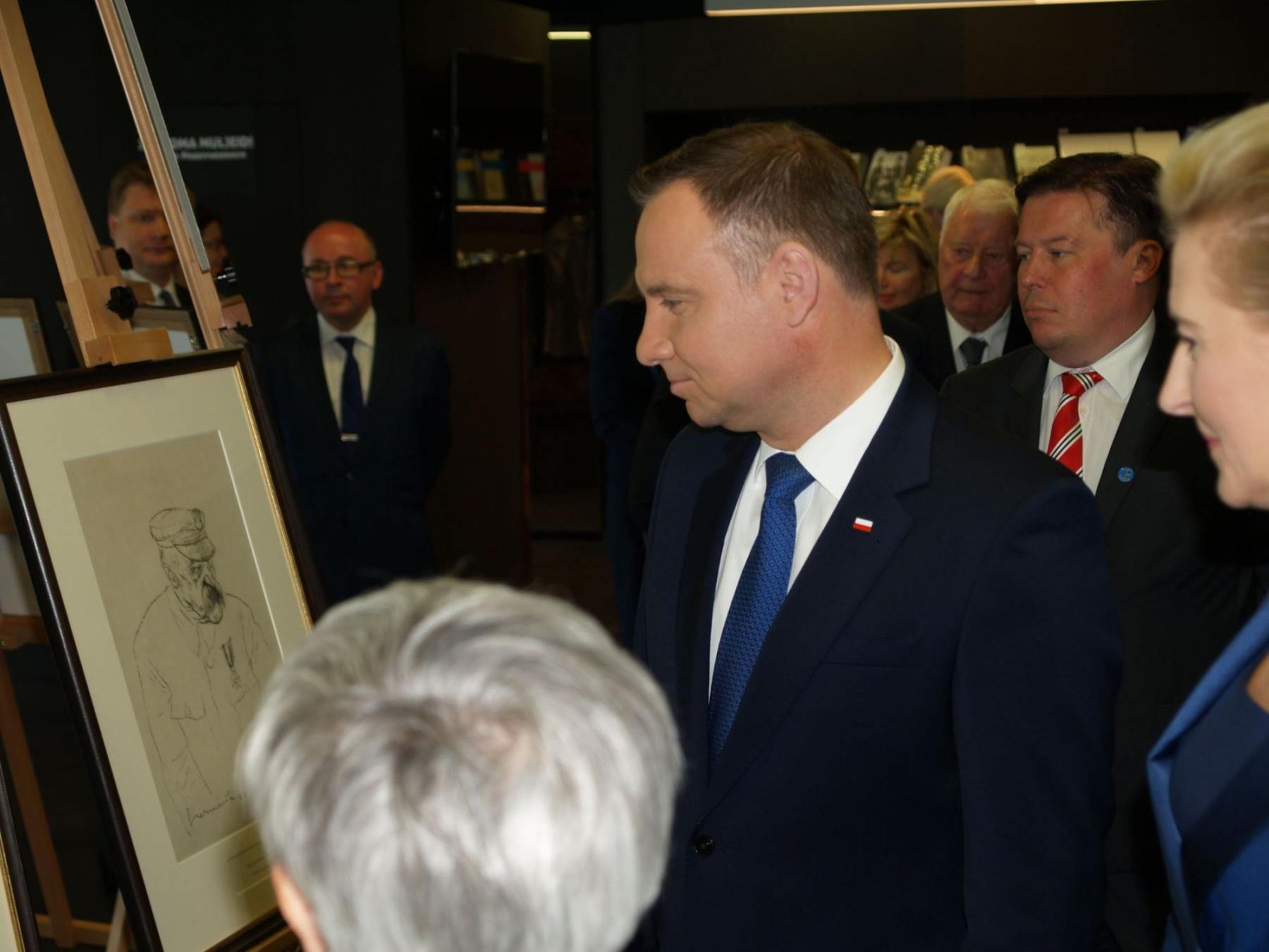 First foreign head of state visits the National Archives!