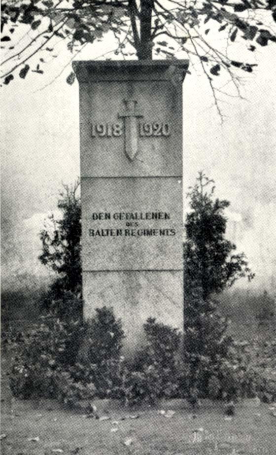 Foto väljaandest: Heldengedenkbuch des Baltenregiments. Gesammelt und bearbeitet von Georg v. Krusenstjern. Tallinn, 1938