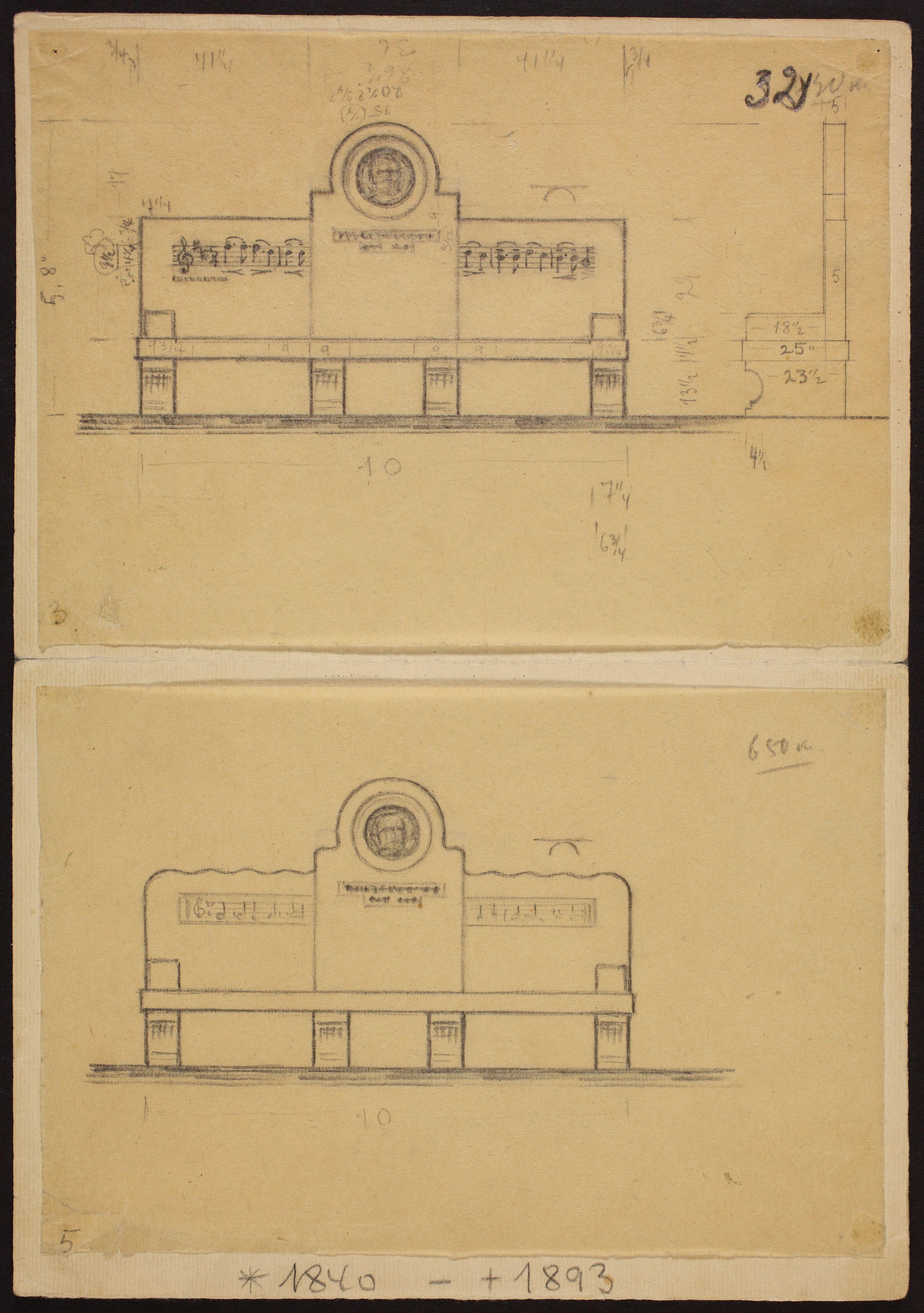 P. I. Tšaikovski pingi projekt, 1940. ERA.R-1903.1.12.32