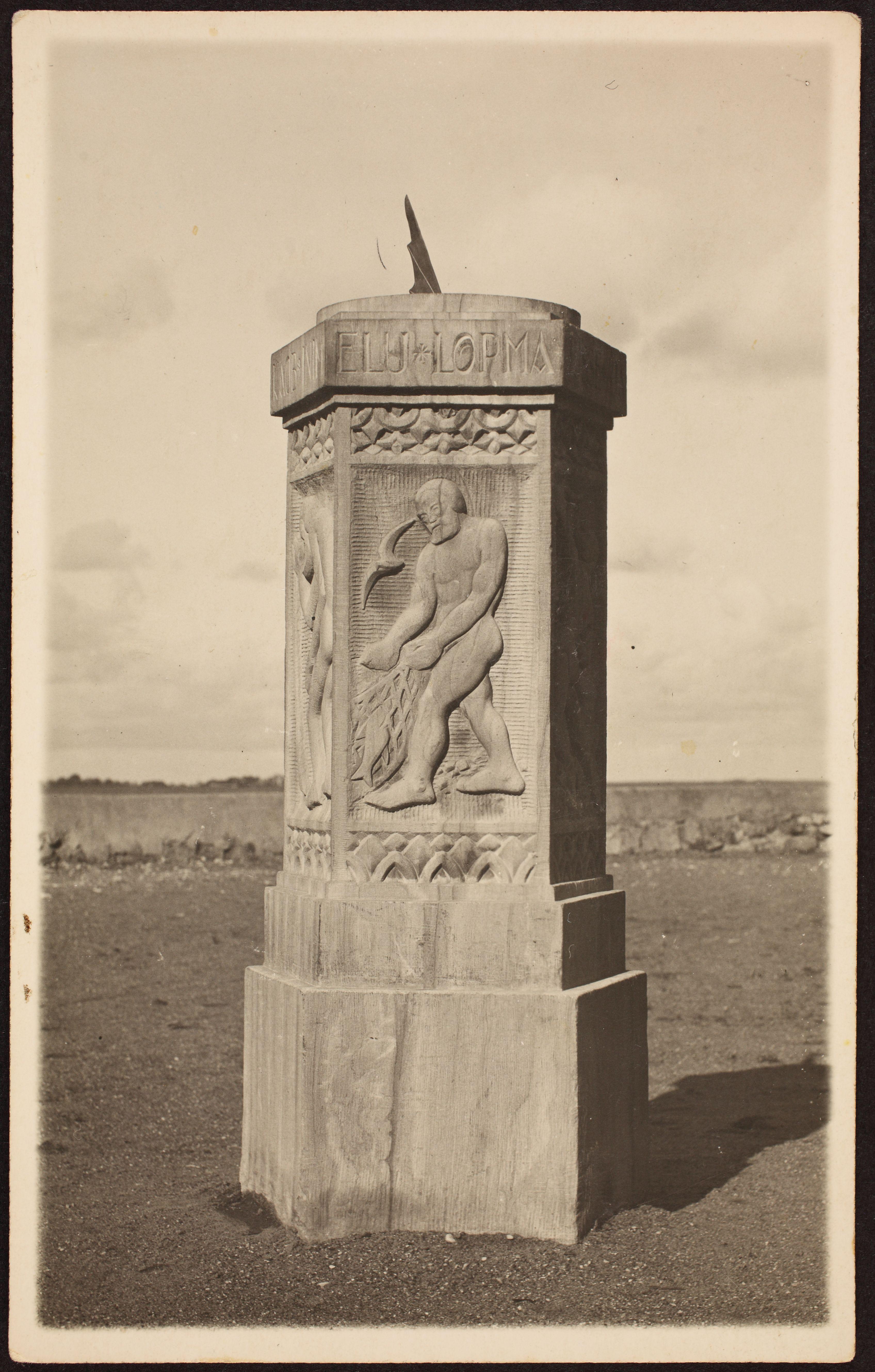 Päikesekell, 1924. ERA.R-1903.1.58.36