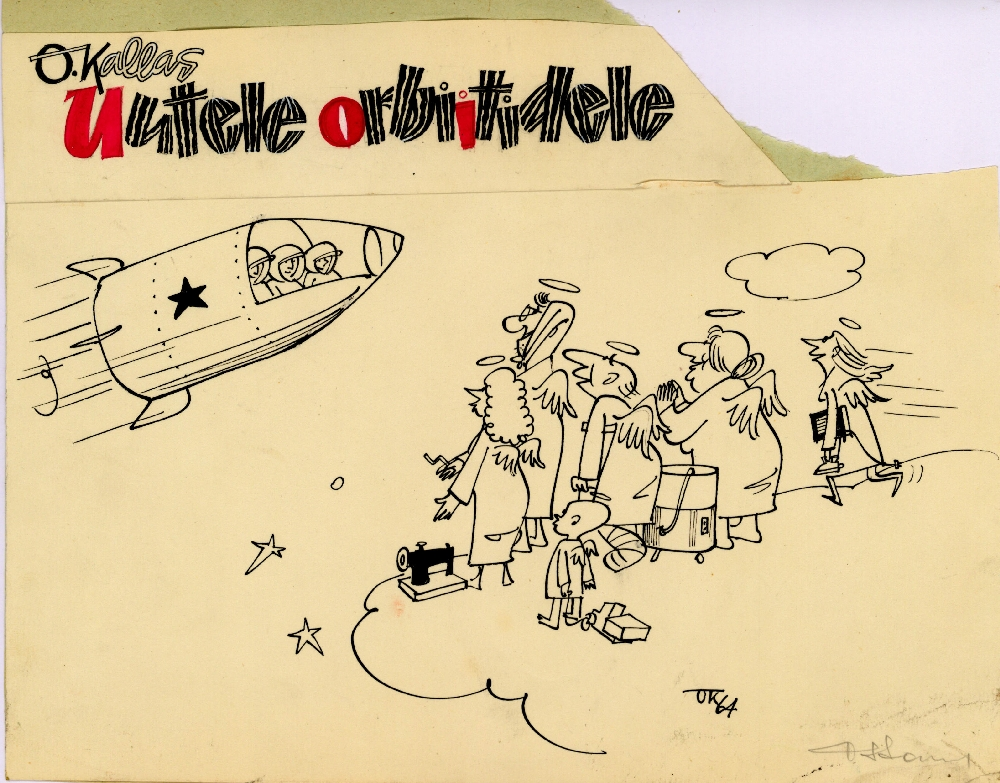 Uutele orbiitidele, autor Olimar Kallas
