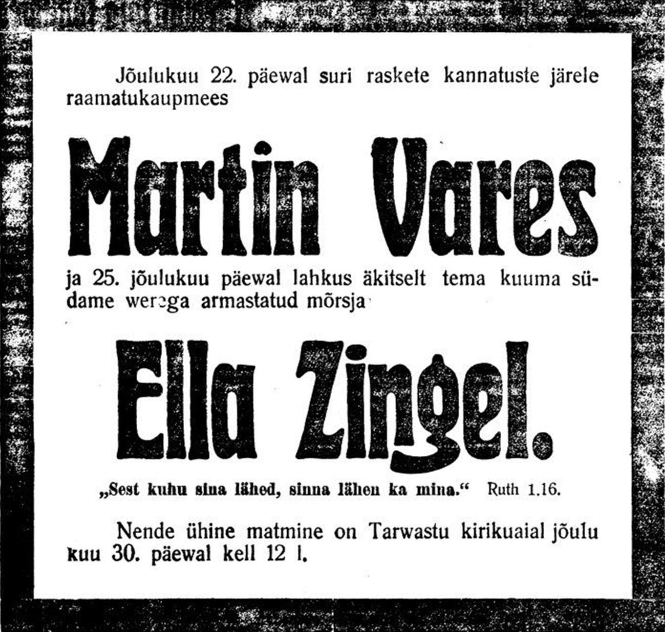 postimeesew19151228_Varese_surmakuulutus_ht