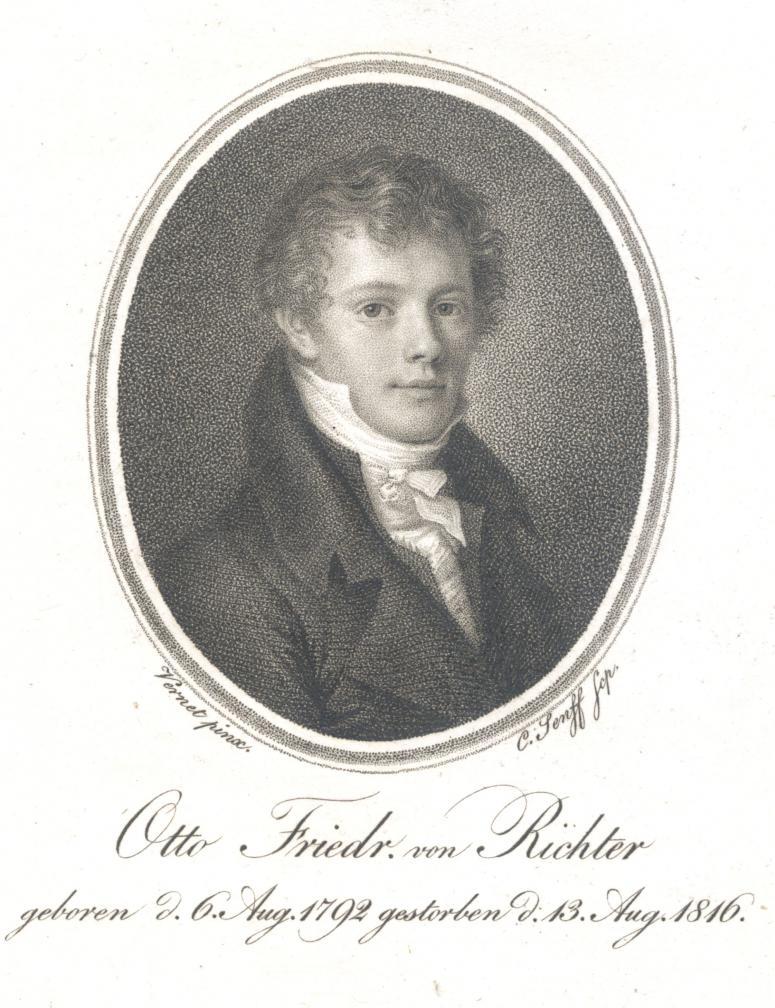 Otto Friedrich von Richter (K. A. Senffi vasegravüür, 1822)