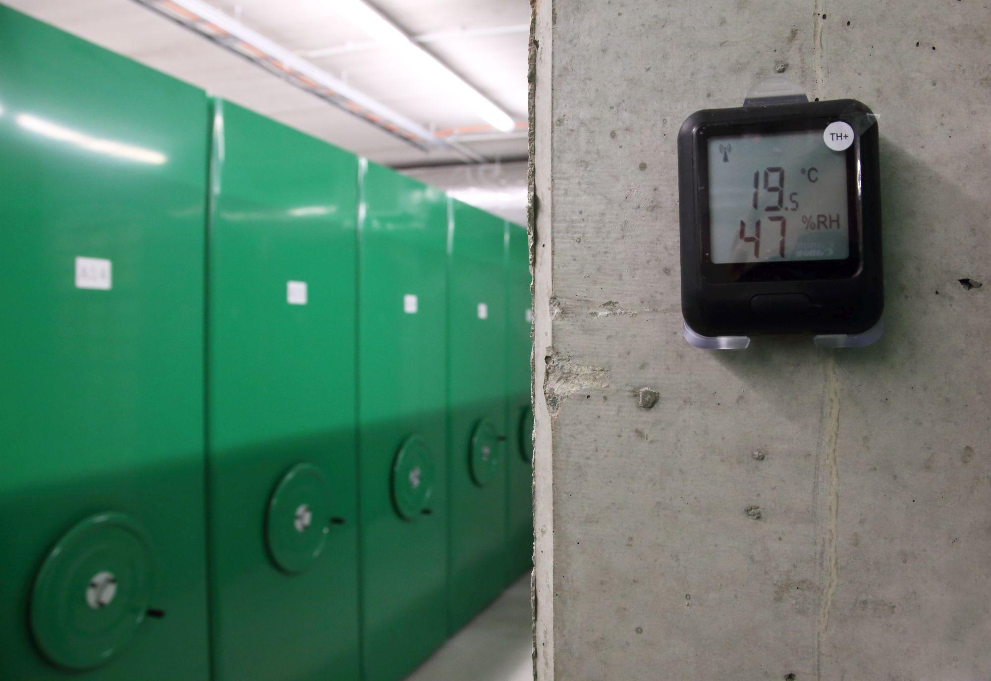 Hoidlate keskkonnatingimusi mõõdab ja jagab wifi-võrgutatud loger