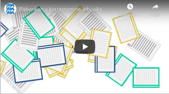 Kuidas paberivirnadest saab korras arhiiv?