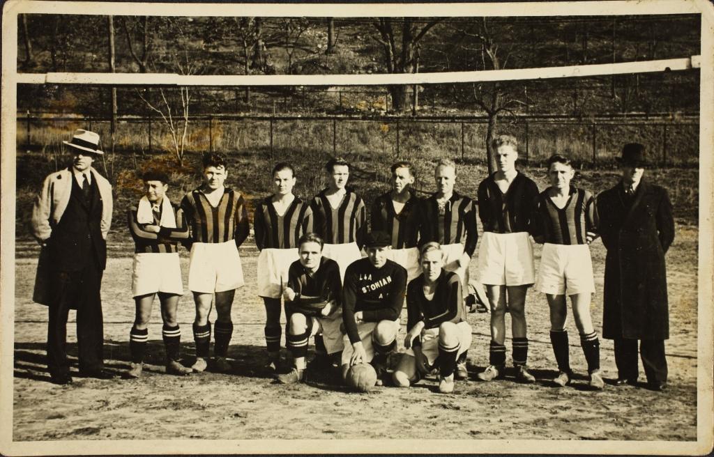 ERAF.9595.1.19.28. New Yorgi Eesti Töölisklubi spordiringi jalgpallimeeskond. 1936. a.