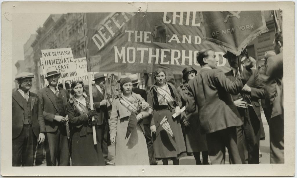 ERAF.9595.1.20.1. Eestlased New Yorgis maiparaadil 1934. aastal.